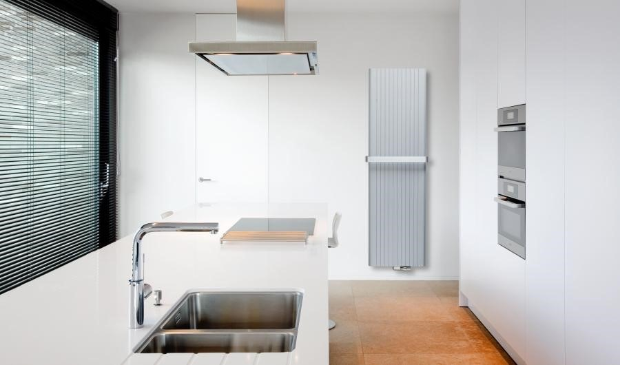 Designer radiators double benefit in your kitchen for Household radiator design