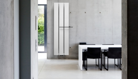 3 streamlined radiators for a minimalist interior
