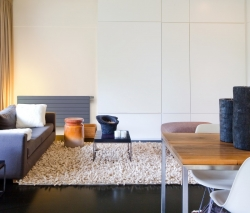 ... Colour (such As A White Radiator Up Against A Dark Wall), Turns Your Designer  Radiator Into A Real Eye Catcher. Designer Radiator Living Room