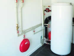 heat pump in the cellar or in the attic